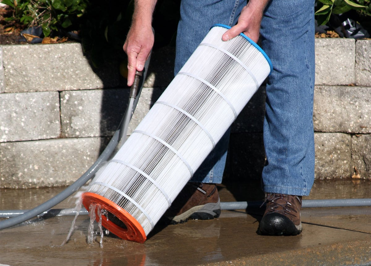 Swimming Pool Filter Cleaning Aqua Blue Pool Services